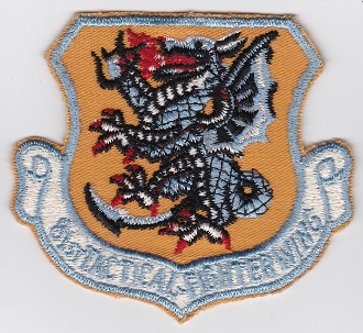 USAF Patch Fighter USAFE 81 TFW Tactical Fighter Wing Bentwaters