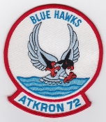 US Navy Aviation Patch Attack VA 72 Strike Squadron A 7 Corsair