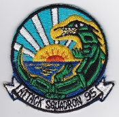 US Navy Aviation Patch Attack VA 95 Strike Squadron A1 Skyraider