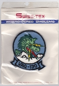 US Navy Aviation Patch Electronic Warfare VAQ 130 Squadron 1970s