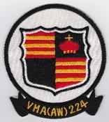 US Marine Corps Aviation Attack VMA 224 Squadron Patch Japanese