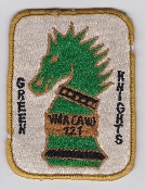 US Marine Corps Aviation Attack VMA 121 Squadron Patch Asian Md