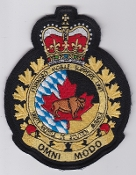 RCAF Patch Unit Royal Canadian Air Force Forward Mobile Support