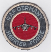 RAF Patch 4 Squadron RAF Germany Harrier Force GR 3 1980s
