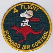 RAAF Patch Flt Royal Australian Air Force 4 Flight FAC Training