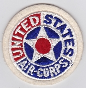 United States Army Air Corps Patch USAAC 1940