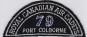 RCAFAC Patch Title Royal Canadian Air Cadets 79 Squadron