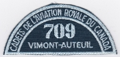 RCAFAC Patch Title Royal Canadian Air Cadets 709 Squadron