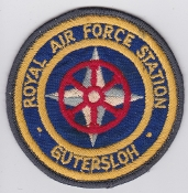 RAF Patch Station Royal Air Force Gutersloh W Germany Cold War