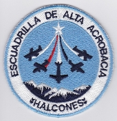 Chile Patch Chilean Air Force FAC Halcones Aerobatic Team