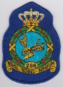 RNLAF Patch Sqn Royal Netherlands Air Force 298 Squadron Crest 1