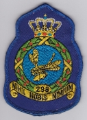RNLAF Patch Sqn Royal Netherlands Air Force 298 Squadron Crest 3