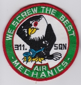 RNLAF Patch Sqn Royal Netherlands Air Force 311 Squadron F 104