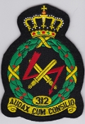RNLAF Patch Sqn Royal Netherlands Air Force 312 Squadron Crest L