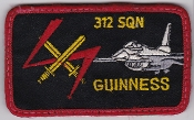RNLAF Patch Sqn Royal Netherlands Air Force 312 Squadron F 16
