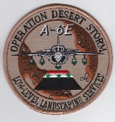 US Navy Aviation Patch TDY Operation Desert Storm A 6E Intruder