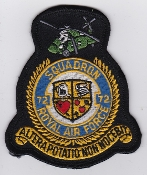 RAF Patch 72 Squadron Royal Air Force Crest Wessex N Ireland GC