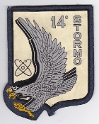 Italian Patch Air Force Aeronautica Militare AM Stormo 14 EC 130