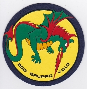 Italian Patch Air Force Aeronautica Militare AM Gruppo 200 Volo