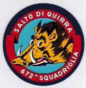 Italian Patch Air Force Aeronautica Militare AM Sq 672 Utility