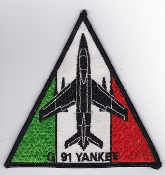 Italian Patch Air Force Aeronautica Militare AM Gruppo 101 G 91Y