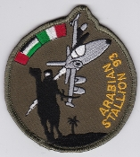 Italian Patch Air Force Aeronautica Militare AM Gruppo 103 AMX