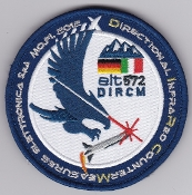 Italian Patch Air Force Aeronautica Militare AM Gruppo 50 DIRCM