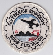 RNoAF Patch Royal Norwegian Air Force Service Sqn F104 F 5 Bodo
