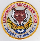 RAF Patch 12 208 Squadron Royal Air Force Buccaneer Wing DS 1991