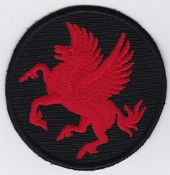 RAF Patch 18 Squadron Royal Air Force Pegasus Chinook Gutersloh