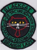USAF Patch Recon S 9 SRW Strategic Reconnaissance Det 2 Osan