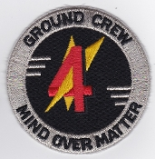 RAF Patch 4 Squadron Royal Air Force Ground Crew Gutersloh 1980s
