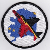 RAF Patch 4 Squadron IV Royal Air Force Ex Cope Thunder Alaska