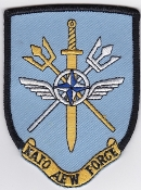 RAF Patch 8 Squadron Royal Air Force NATO AEW Force E 3D AWACS