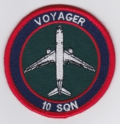 RAF Patch 10 Squadron Royal Air Force Voyager Tanker Brize