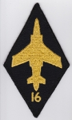 RAF Patch 16 Squadron Royal Air Force Buccaneer S2B Strike 77