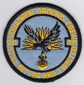 RAF Patch 20 Squadron Royal Air Force Grond Crew Tornado GR 1