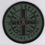RAF Patch 20 Squadron Royal Air Force Strike Harrier Force GR 7