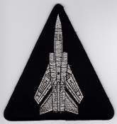 RAF Patch 25 Squadron Royal Air Force Tornado F 3 Air Defence
