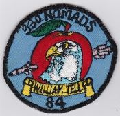 USAF Patch Fighter PAC 33 TFW Tactical Ftr Wing William Tell 84