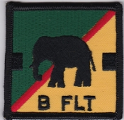 RAF Patch 27 Squadron Royal Air Force Elephant Chinook B Flight