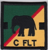 RAF Patch 27 Squadron Royal Air Force Elephant Chinook C Flight