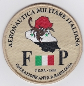 Italian Patch Air Force Aeronautica Militare AM Reparto 6 ROA FP