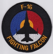 RNLAF Patch Sqn Royal Netherlands Air Force 312 Squadron F 16 AC
