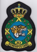 RNLAF Patch Sqn Royal Netherlands Air Force 313 Squadron Crest