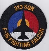 RNLAF Patch Sqn Royal Netherlands Air Force 313 Squadron Tiger