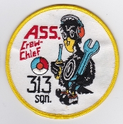 RNLAF Patch Sqn Royal Netherlands Air Force 313 Squadron NF 5