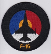 RNLAF Patch Sqn Royal Netherlands Air Force 315 Squadron F 16