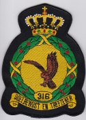 RNLAF Patch Sqn Royal Netherlands Air Force 316 Squadron Crest