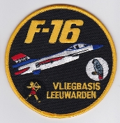 RNLAF Patch Sqn Royal Netherlands Air Force F 16 Leeuwarden 322